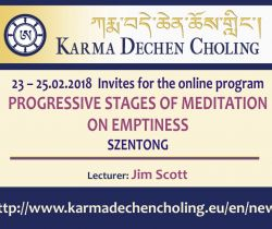Progressive Stages of Meditation on Emptiness - Level IV - Shentong